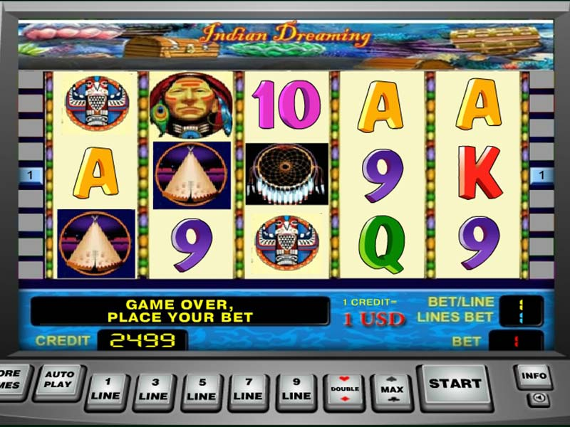 indian dreaming slot machine online game